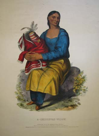 A Chippeway-Widow.
