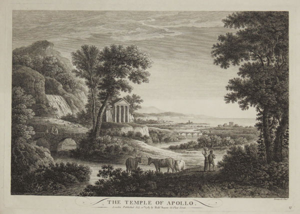 The Temple of Apollo.