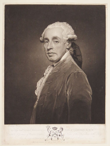 The Right Hon.ble James Brudenell, Earl of Cardigan, &c.&c.&c. Constable & Governor of Windsor Castle & Keeper of the Privy Purse to the King. From the Original Picture in the Possession of Anthony Storer Esq.r
