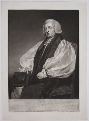 Right Rev.d Chr Wilson D.D. Lord Bishop or Bristol.