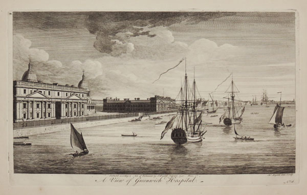 A View of Greenwich Hospital.