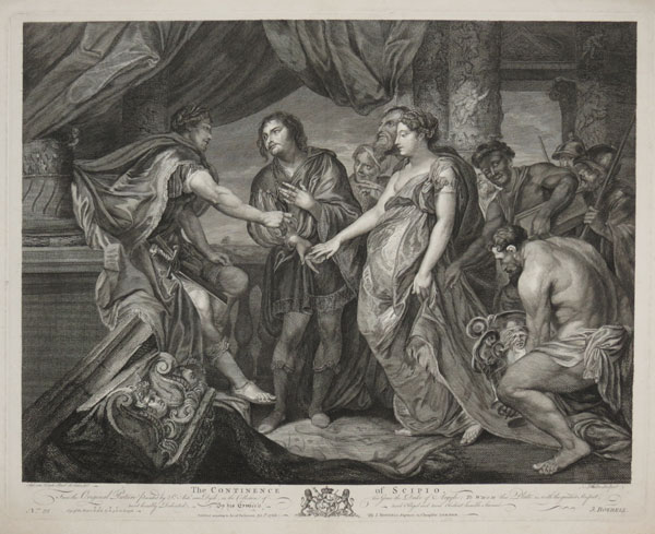 The Continence of Scipio.
