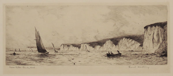 Seven Sisters Beachy Head [in pencil to left.]