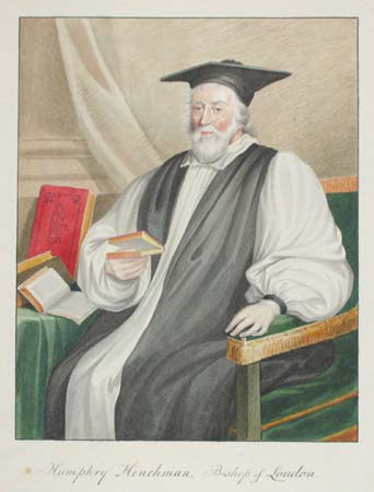 Humphry Henchman, Bishop of London.