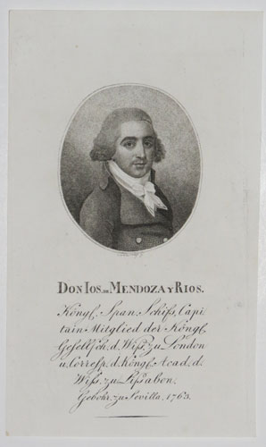 Don Ios. de Mendoza y Rios.
