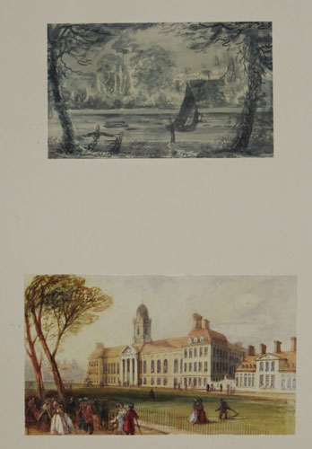 [Two watercolours of Chelsea Hospital.]