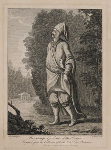 Boustangi; Gardener of the Seraglio.