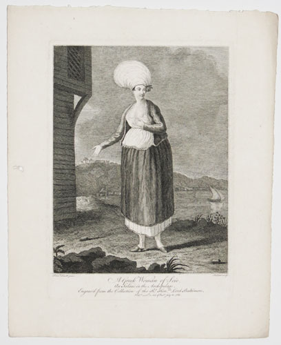 A Greek Woman of Scio, An Island in the Archipelago.