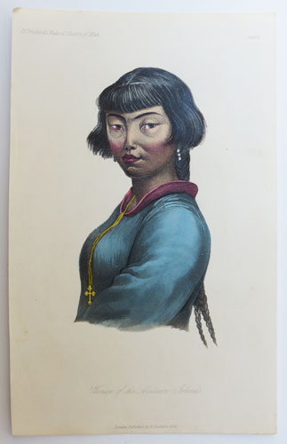 Woman of the Aleutian Islands.