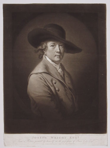 Joseph Wright Esqr. From a Picture painted by himself in the possession of James Cade Esqr.
