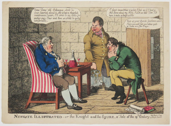 Newgate Illustrated-or the Knight and the Squire. a Tale of the 19th Century.