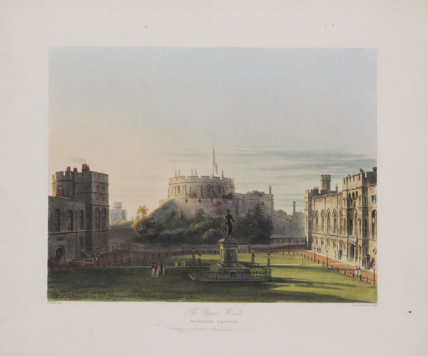 The Upper Ward, Windsor Castle.