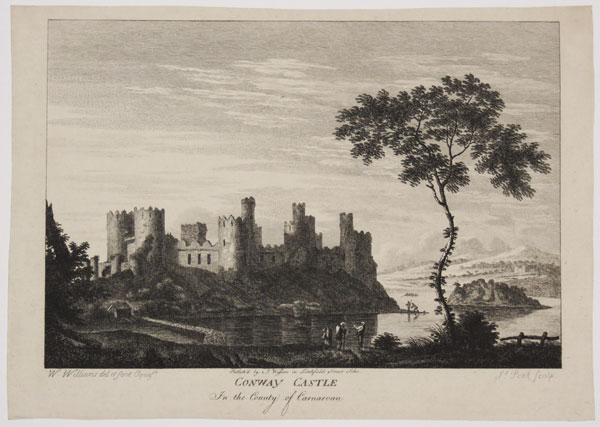 Conway Castle In the County of Carnarvon.