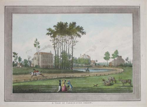 A View Of Paddington Green. 4 [inscribed top right of plate].