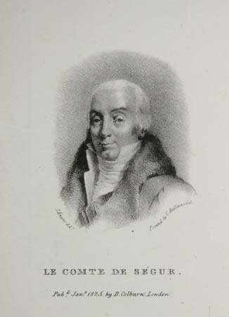 [France] Le Comte de Segur [Louis Philippe].