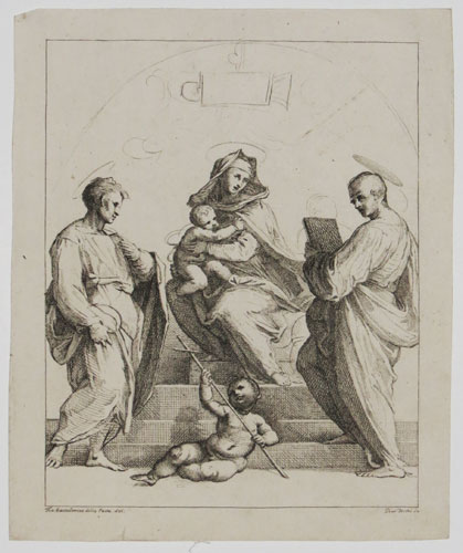 [Virgin and Child with Saints.]