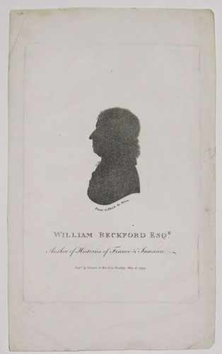 William Beckford Esq.r. Author of Histories of France & Jamaica.