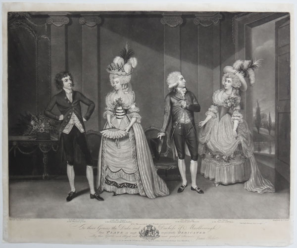 [Marlborough Theatricals.] To their Graces the Duke and Duchess of Marlborough