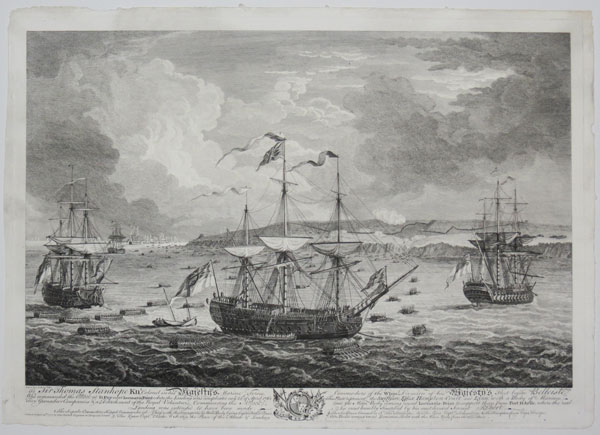 [The Capture of Bellisle, 1761.]