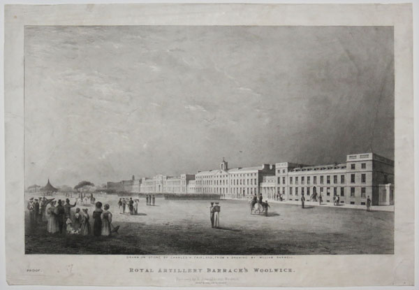 Royal Artillery Barrack's Woolwich.