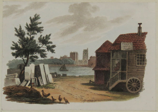 [View of the Thames at Putney]
