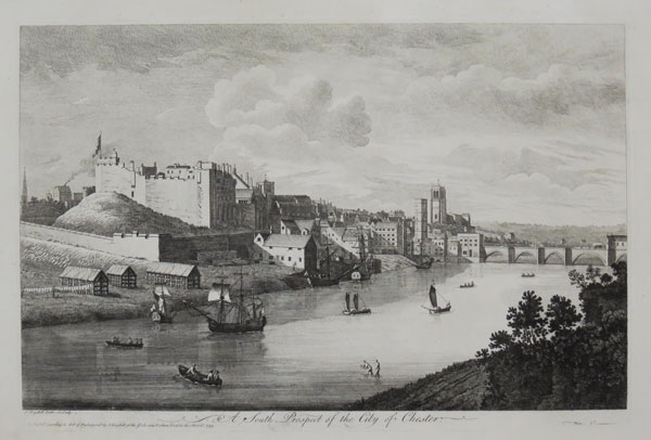 A South Prospect of the City of Chester.