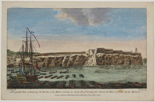 A Perspective View of Entering the Breach of the Moro Castle by Storm, the 30.th July 1762, between the Hours of 1 and 2 in the Afternoon._  11.