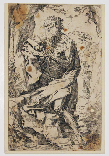 [Saint Jerome in the Wilderness.]