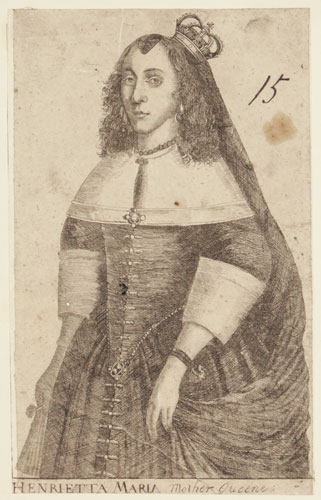 Henrietta Maria.  Mother Queene.