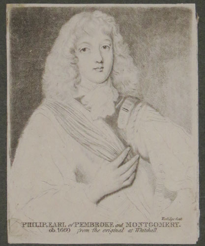 Philip, Earl of Pembroke and Montgomery.