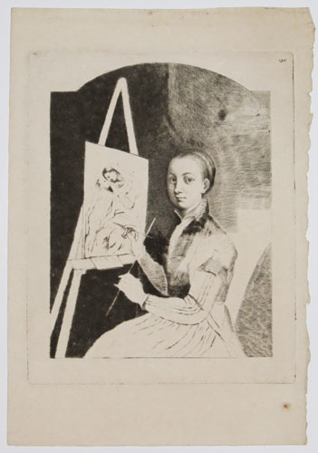 [Portrait of Sofonisba Anguissola at the Easel]