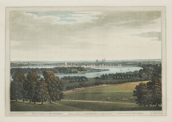 Battersea, Chelsea, & LONDON, from Mr. Rucker's Villa.