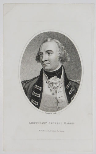 Lieutenant General Harris.