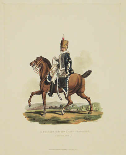 A Private of the 18.th. Light Dragoons.
