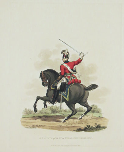 A Private of the 3.rd. or Kings Own Dragoons.