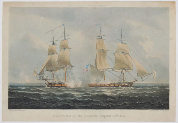 Capture of the Argus, August 14th, 1813.