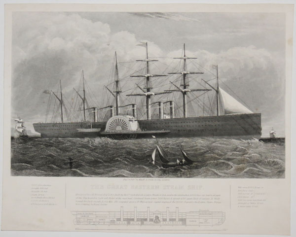 The Great Eastern Steam Ship.