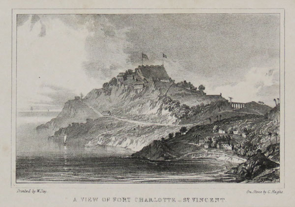 A View of Fort Charlotte_ St. Vincent.
