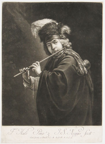[The Flute Player.]