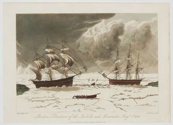 Perilous Situation of the Isabella and Alexander, Aug.t 7th 1818.