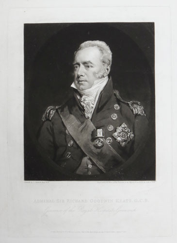 Admiral Sir Richard Goodwin Keats, G. C. B.