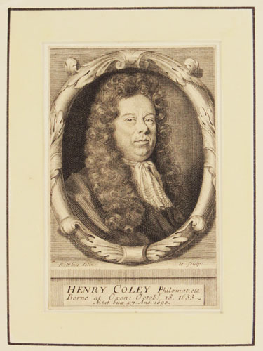Henry Coley Philomat. etc.