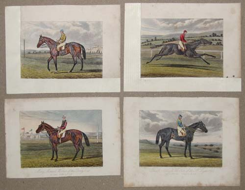 [22 race horse portraits].