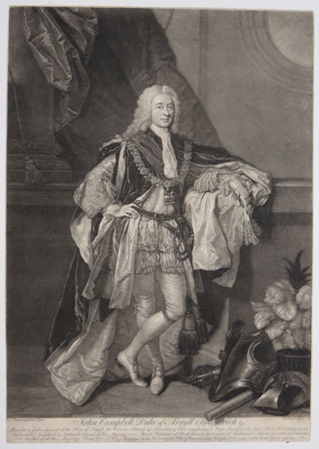 John Campbell. Duke of Argyll & Greenwich &c.