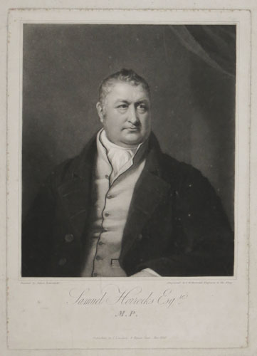 Samuel Horrocks Esq.re, M.P.