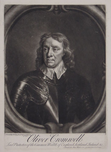 Oliver Lord Protector of the Common Wealth of England, Scotland Ireland &c.