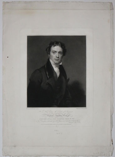 To His Grace the Duke of Somerset This Portrait of Michael Faraday Esq.r F.R.S. M.R.I. F.G.S.
