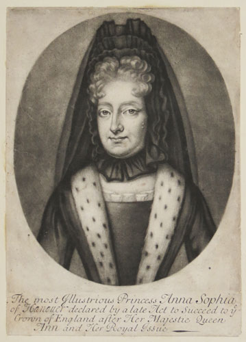[Germany] The most Illustrious Princess Anna Sophia of Hanover