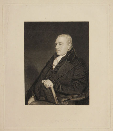 [To the Inhabitants of the Hundred of East and West Flegg, this Portrait of Rev.d B.W. Salmon,