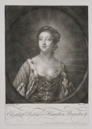Elizabeth Dutchess of Hamilton, Brandon, &c.